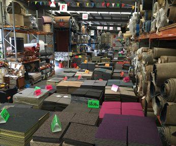 Carpet Tiles at McMats Factory
